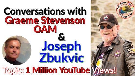 Conversations with Graeme and Joseph Zbukvic