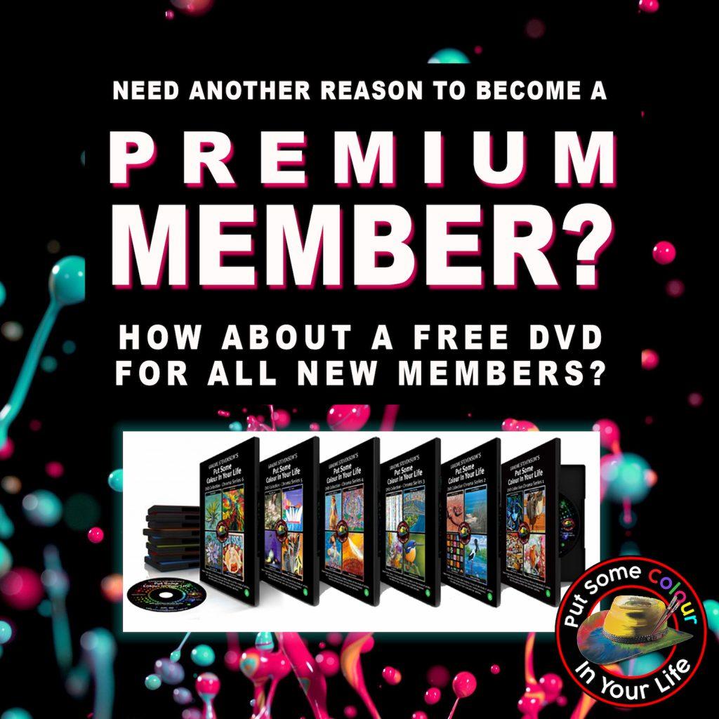 Premium members Colour in Your life  square