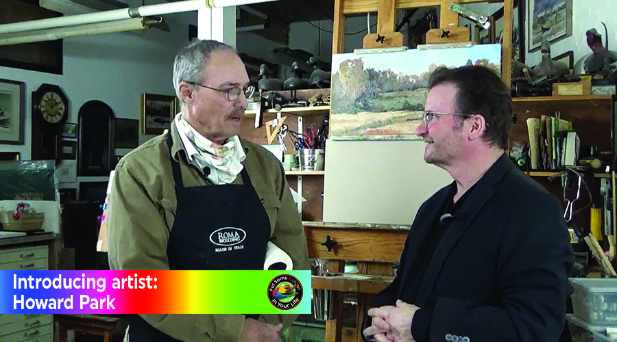 Howard Park and Alan James on the set of Colour In Your Life, US East Coast