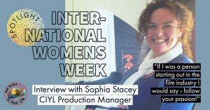 interview with Sophia Stacey