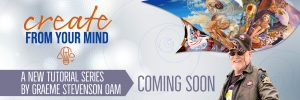 Graeme Create From Your Mind banner
