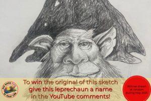 Leprechaun Sketch