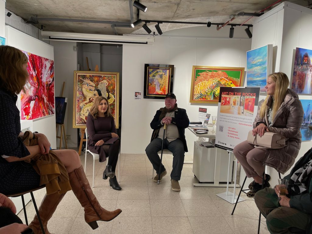 Graeme's gallery talk