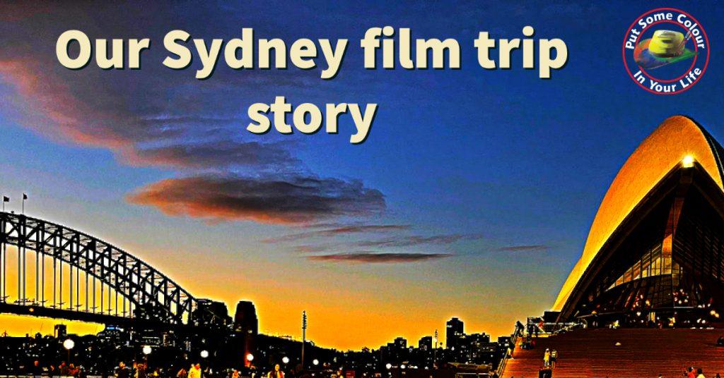 Our Sydney film Trip