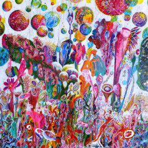 Carnival Flowers 48x48 (1)