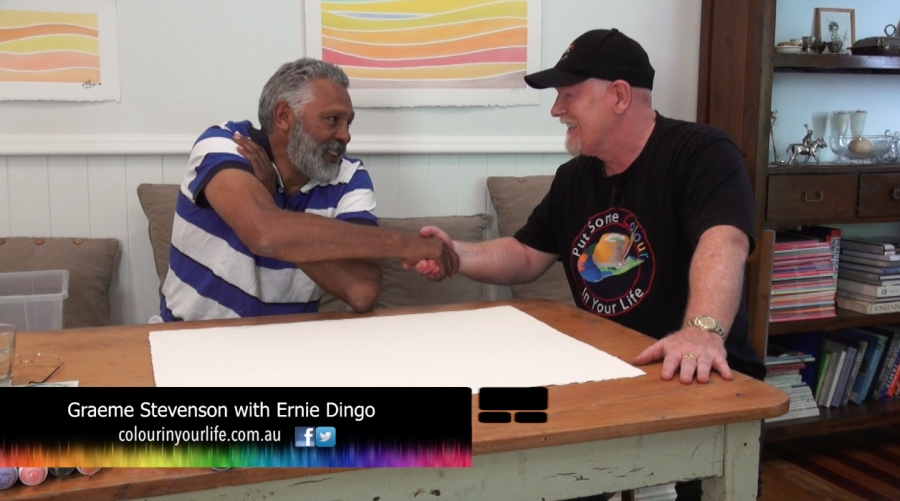 Colour In Your Life Ernie Dingo