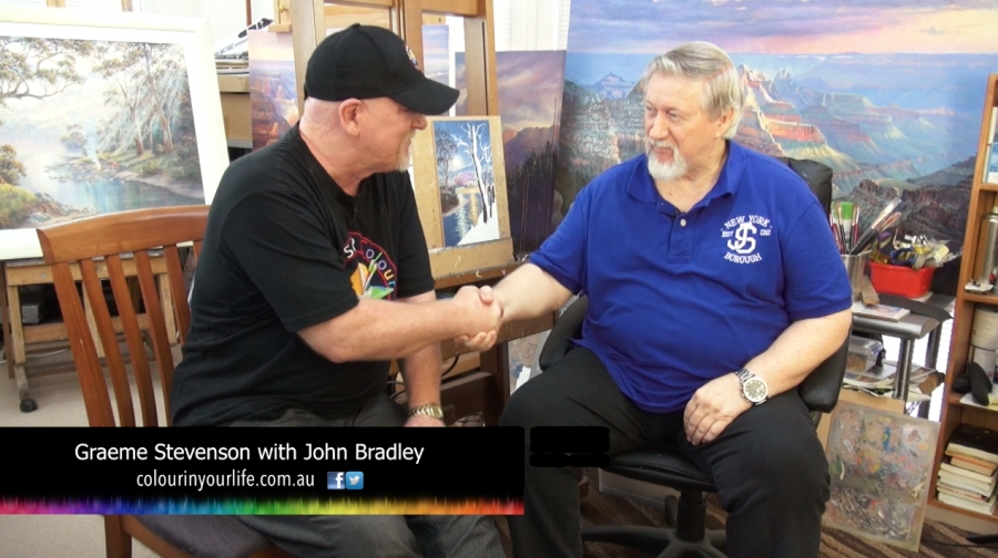 john Bradley Presented by Colour In Your Life 7947a9f555