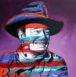 John Wayne, screen legend and cowboy